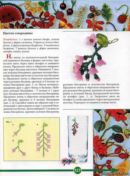 радуга и самолет - брелки из бисера. схемы плетения брелков.
