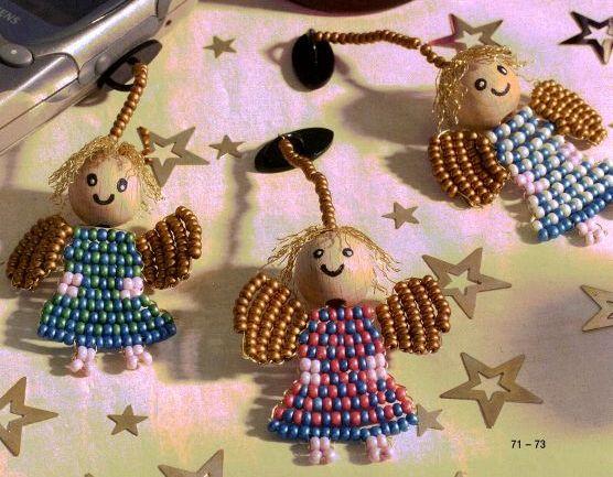 Рождественские ангелы.  Присоединённые изображения.