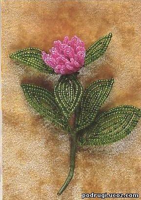 Бисероплетение схемы цветы ромашки