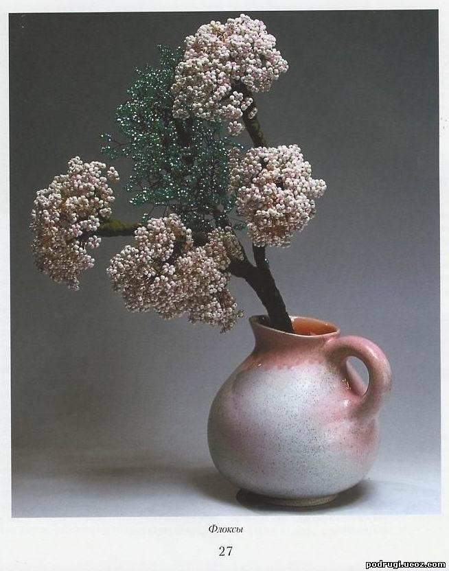 Название: Цветы и деревья из бисера. .  Автор: Елена Стольная Издательство: Мартин Год: 2006. .  Число страниц: 124.